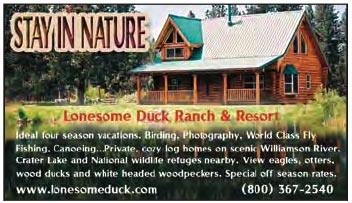 Lonesome Duck Advertisement.
